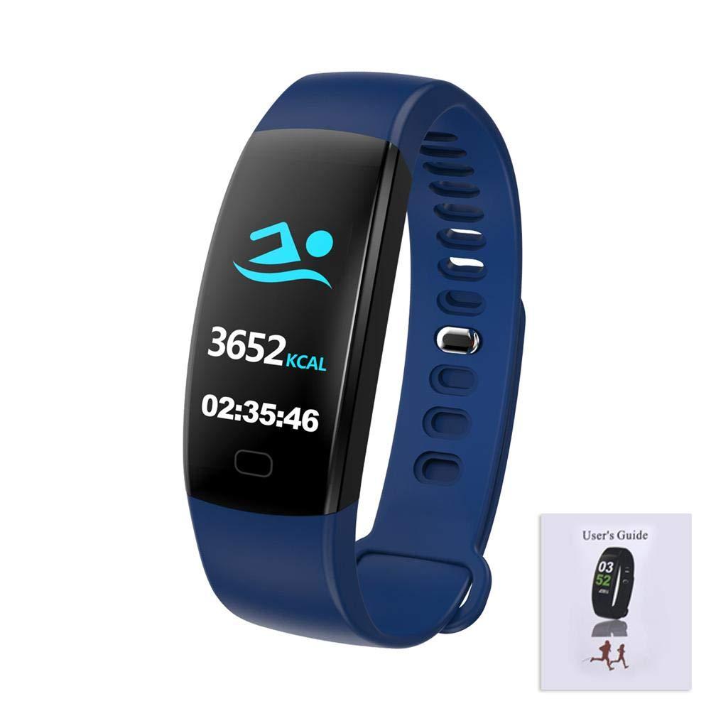 Smart Armband 0, 96 Zoll Herzfrequenz Sauerstoff Blut Information Push Hutiee