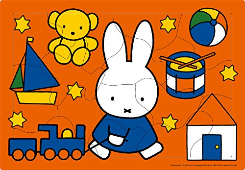 15 piece kids puzzles Miffy and effective puzzle toys