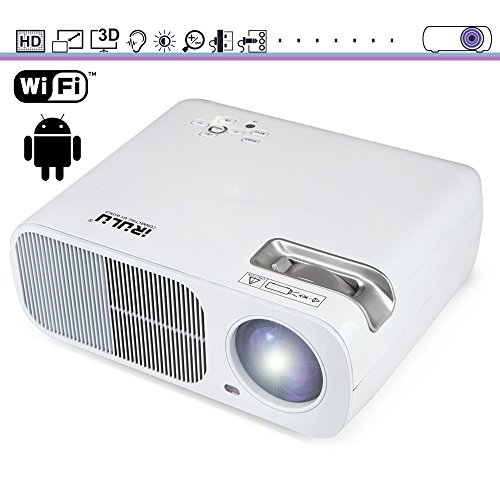 Led projector portable wireless video projector built in for Best portable wireless projector