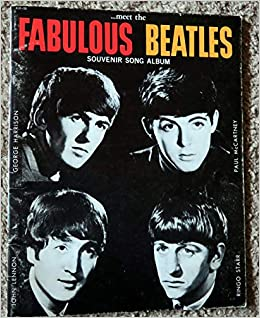 songbook THE BEATLES souvenir film 1964 song album