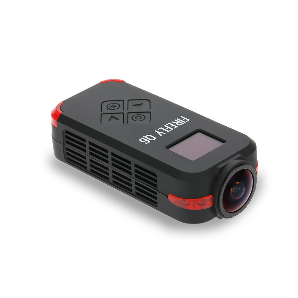 Leoie Firefly Q6 4K HD FPV Aerial Camcorder 120 Wide Angle Action Camera for ZMR250 QAV250 210 QAV180 Racing Drone