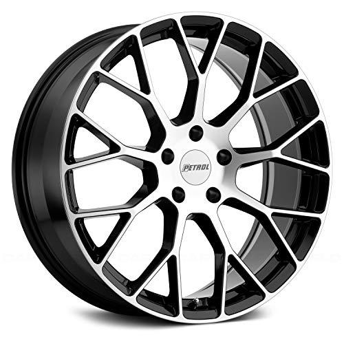 Petrol Wheels - Petrol P2B Custom Wheel - Gloss Black with Machined Face 19