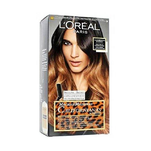 L'OREAL - Coloration - Préférence Mechas Californianas - Look TIE DYE - N°103 Chatain Foncé L' Oréal