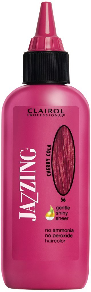 Nice Clairol Jazzing Hair Coloring #56 - Cherry Cola 3 oz. (Pack of 2) for sale