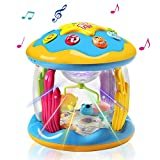 HOMOFY Baby Toys Ocean Park Rotating Projector,Various...