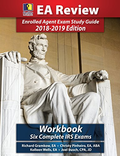 PassKey Learning Systems EA Review Workbook: Six Complete IRS Enrolled Agent Practice Exams 2018-2019 Edition