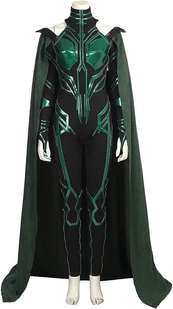 costory Disfraz de Cosplay para Mujer, Thor 3 Ragnarök Hela ...
