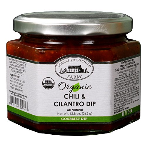 Robert Rothschild Farm Chili & Cilantro Organic Dip - 12.8 Oz. Net. Wt. (Cilantro Dipping Sauce compare prices)