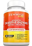 Digestive Enzymes Plus Prebiotics & Probiotics - Natural Gluten Free Support - For Better Digestion & Lactose Absorption - For Bloating & Gas Relief + Helps IBS & Leaky Gut
