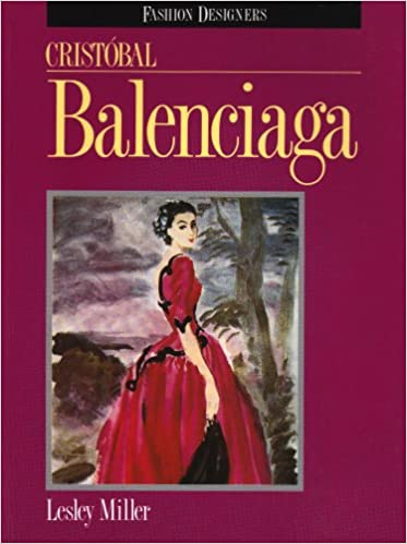 Book Cristobal Balenciaga (Fashion Designers)