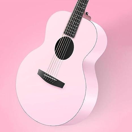 Miiliedy Minimalista Moda Rosa Reina Viaje Guitarra Entrada para ...