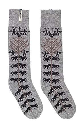 Öjbro Swedish made Thick Winter Knee Socks of Soft Merino