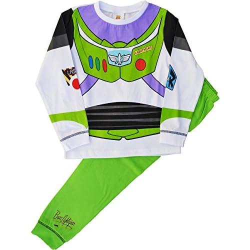 Licencia oficial Disney pijamas. Buzz Lightyear Dress Up pijama. 100% Algodón