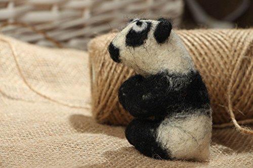 Handmade Wool Toy For Home Panda