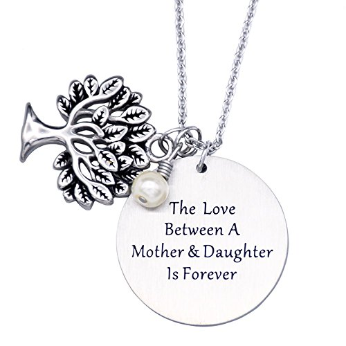 Mother child birthstone jewelry amazon oriya personalized family tree necklace tree of life pendant mother gift necklace christmas gifts for mom grandmothers necklace aloadofball Images