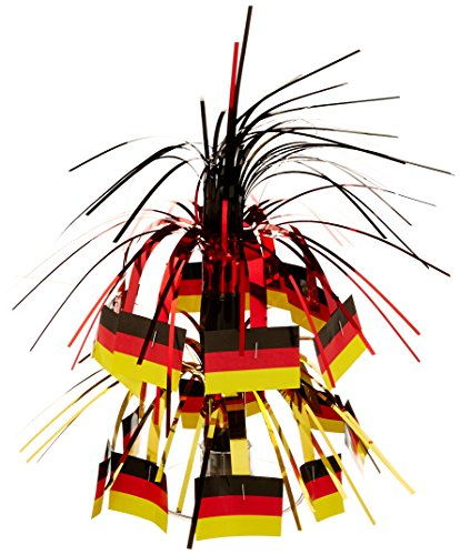 German Flag Mini Cascade Centerpiece Party Accessory (1 count) (German Decorations)