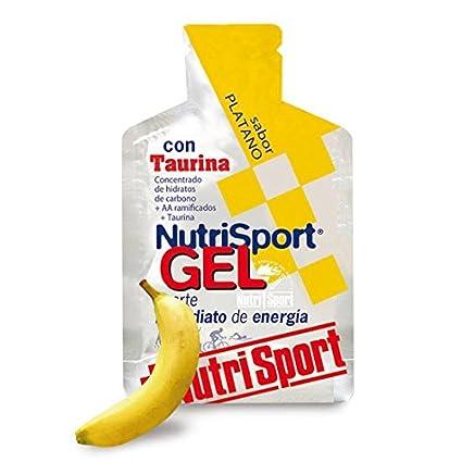 NUTRI-SPORT - GEL PLATANO+TAURINA 40G N.S