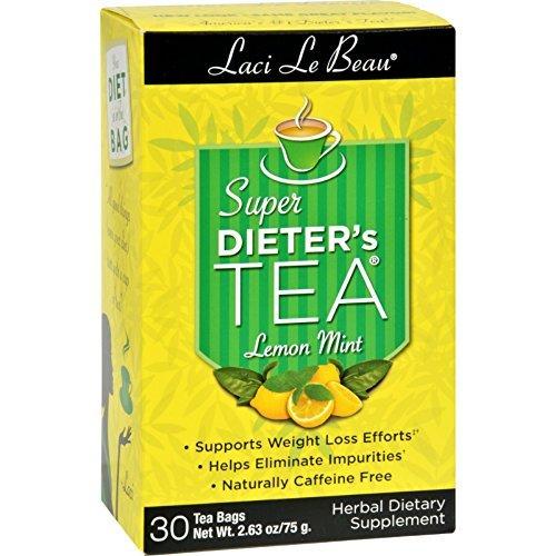 Laci Le Beau Super Dieter's Tea Lemon Mint - 30 Tea Bags Laci Le Beau Super Dieters Tea