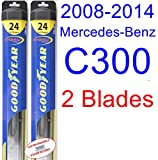 2008-2014 Mercedes-Benz C300 Replacement Wiper Blade Set/Kit (Set...