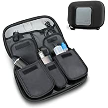 USA Gear Vape & Accessory Carrying Case Premium E-Cigarette Vape Mod Travel Pen Large Organizer - Works blu, Innokin, Janty, Halo Cigs, 777 E-Cigs More Electronic Cigarettes