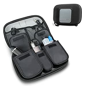 Vape & Accessory Carrying Case by USA Gear - Premium E-Cigarette Vape Mod Travel Pen Large Organizer - Works With blu , Innokin , Janty , Halo Cigs , 777 E-Cigs and More Electronic Cigarettes