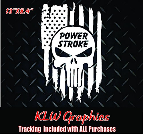 Powerstroke * Vinyl Decal Sticker Diesel - Decal Lift