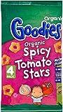 Organix Goodies Organic Spicy Tomato Stars 12mth+ (4x15g) - Pack of 6