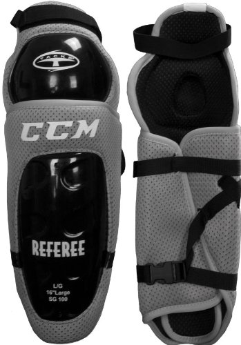 CCM SG100 Hockey Referee Shin Guards - 15""