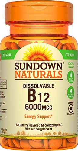 Vitamins & Supplements: Sundown Naturals Dissolvable B12