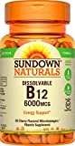 Sundown Naturals Sublingual Vitamin B-12 6000 mcg, 60 - Best Reviews Guide