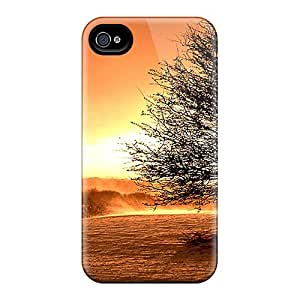 Cute High Quality Iphone 4/4s Sunset Storm Case