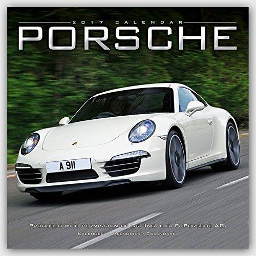 Porsche Calendar- Calendars 2016 - 2017 Wall Calendars - Car Calendar - Automobile Calendar - Porsche 16 Month Wall Calendar by Avonside by MegaCalendars (2016-07-15)
