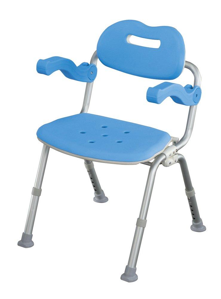 パナソニックエイジフリーライフテック シャワーチェアー サポートタイプ角型(おりたたみ) ブルー VAL41602A B003H6AYEQ ワンタッチなし|ブルー ブルー ワンタッチなし
