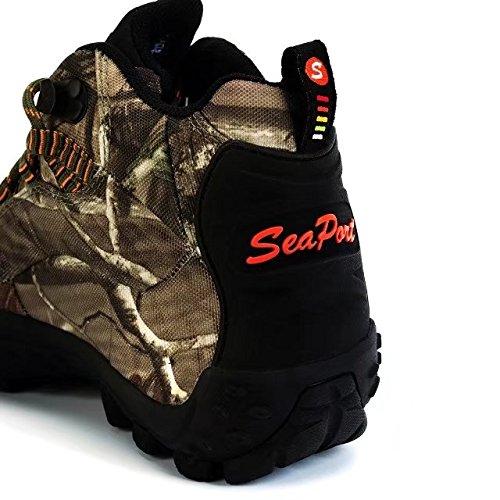 SeaPart Stivali da escursionismo da Donna Impermeabile da Passeggio Mantagna Camuffamento