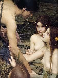 El Museo de salida–Hylas Y Las Ninfas (detalle)–lienzo (24x 32inch)