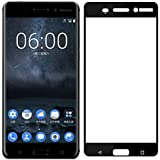 Plus Pro Hd+ Crystal Clear Full Screen Coverage Tempered Glass Screen Protector For Nokia 5 - Black