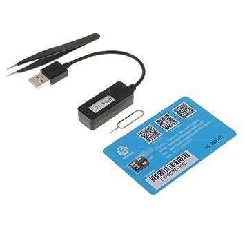 KESOTO Adaptador Dual Sim para Teléfono móvil con Bandeja de ...