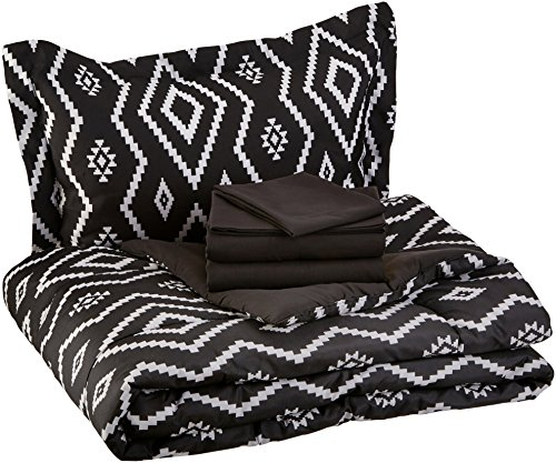 AmazonBasics 5-Piece Light-Weight Microfiber