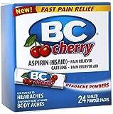 BC Headache Powders, Cherry 24 ea (Pack of 2)