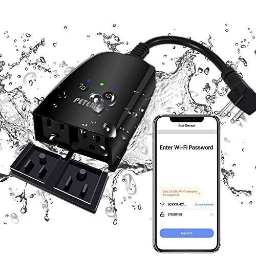 Outdoor Smart Plug Peteme