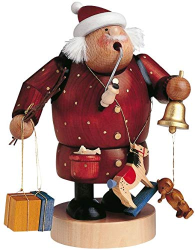 KWO Santa with Bell and Toys German Smoker ()