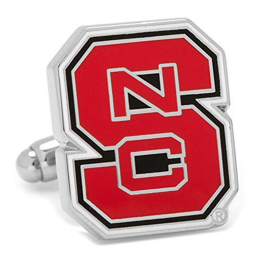 NCAA North Carolina State Wolfpack Cufflinks, Officially Licensed