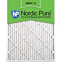 Nordic Pure 16x24x1M13-6 16x24x1 MERV 13 Pleated AC Furnace Air Filter, Box of 6, 1-Inch by Nordic Pure