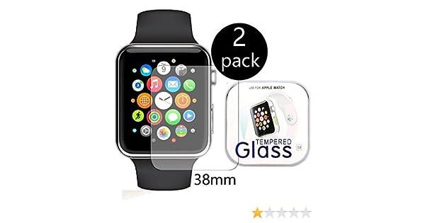 TaoNaisilll036[2-Pack] Apple Watch 38mm Smart Watch Protector de ...