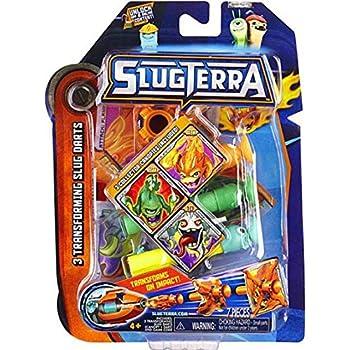 Slugterra Transforming Slug Darts Burpy v2, Doc v2, and Frightgeist v2, 3-Pack