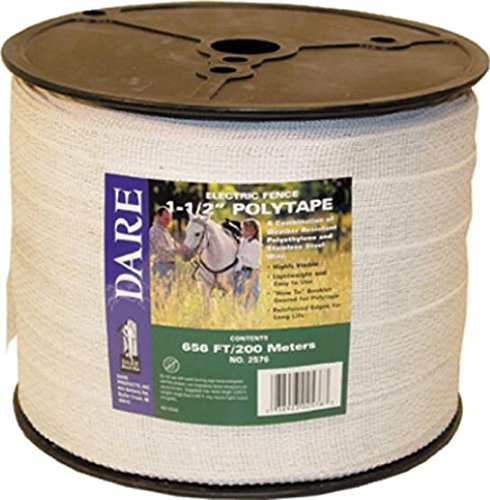EQUINE FENCING POLYTAPE - 1.5 IN X 656 FT by DavesPestDefense