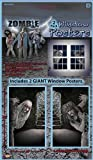 Bristol Novelty Multi Zombie Window Poster Halloween Items Men's One Size
