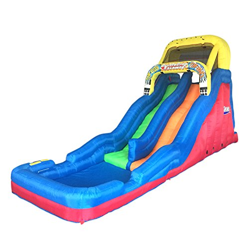 Banzai Double Drop Raceway 2 Lane Water Slide