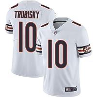 Thole NFL Camiseta Fútbol Chicago Bears 10# TRUBISKY Equipo Fútbol Training Jersey Uniformes