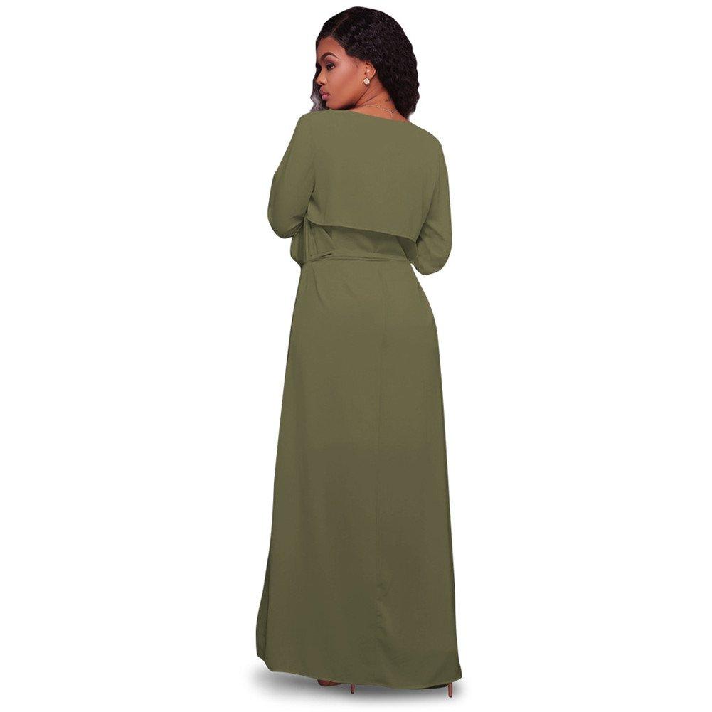 Womens Long Sleeve Cover Up Lightweight Long Loose Chiffon Maxi Cardigan Coat